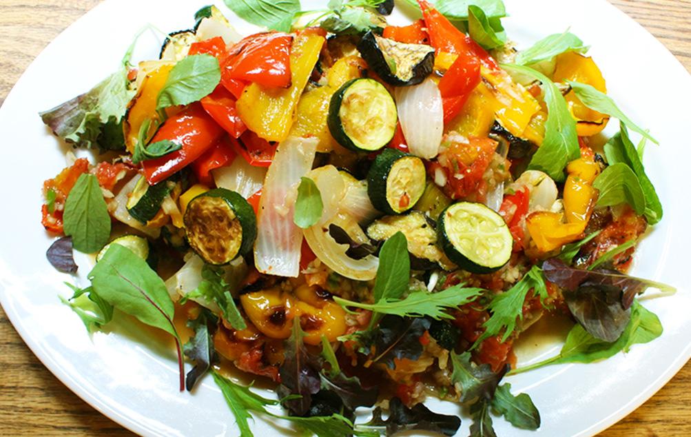 夏野菜のグリルカポナータ