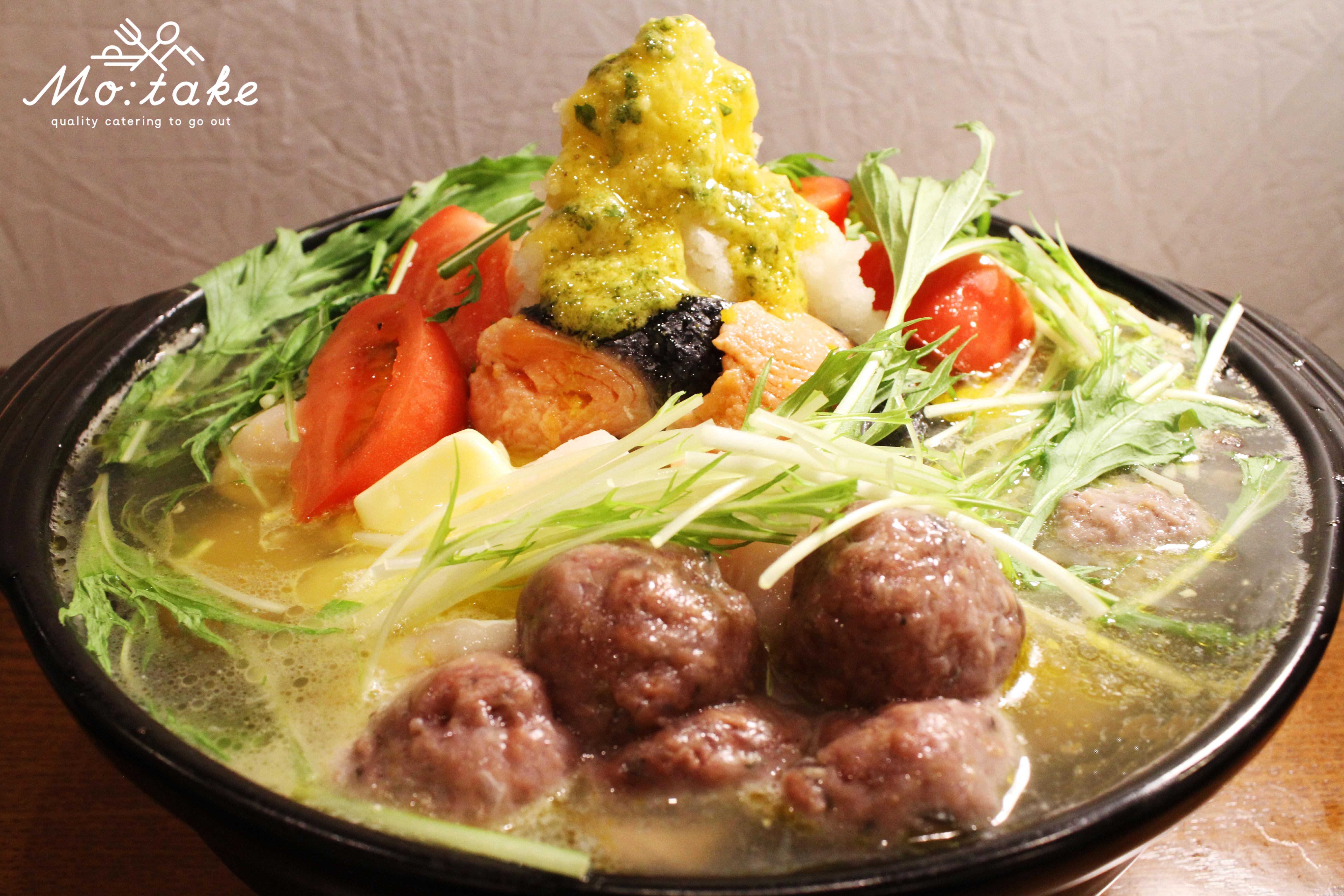 FISHERMAN JAPAN × Mo:take 特製鍋 ~ブイヤベース風~