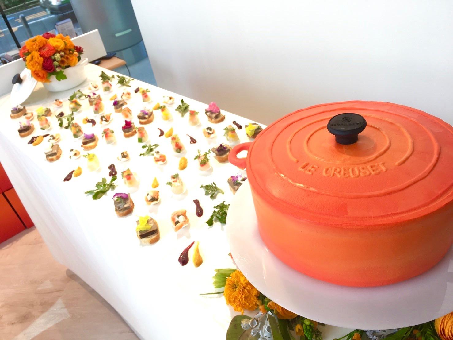 お鍋型ケーキ