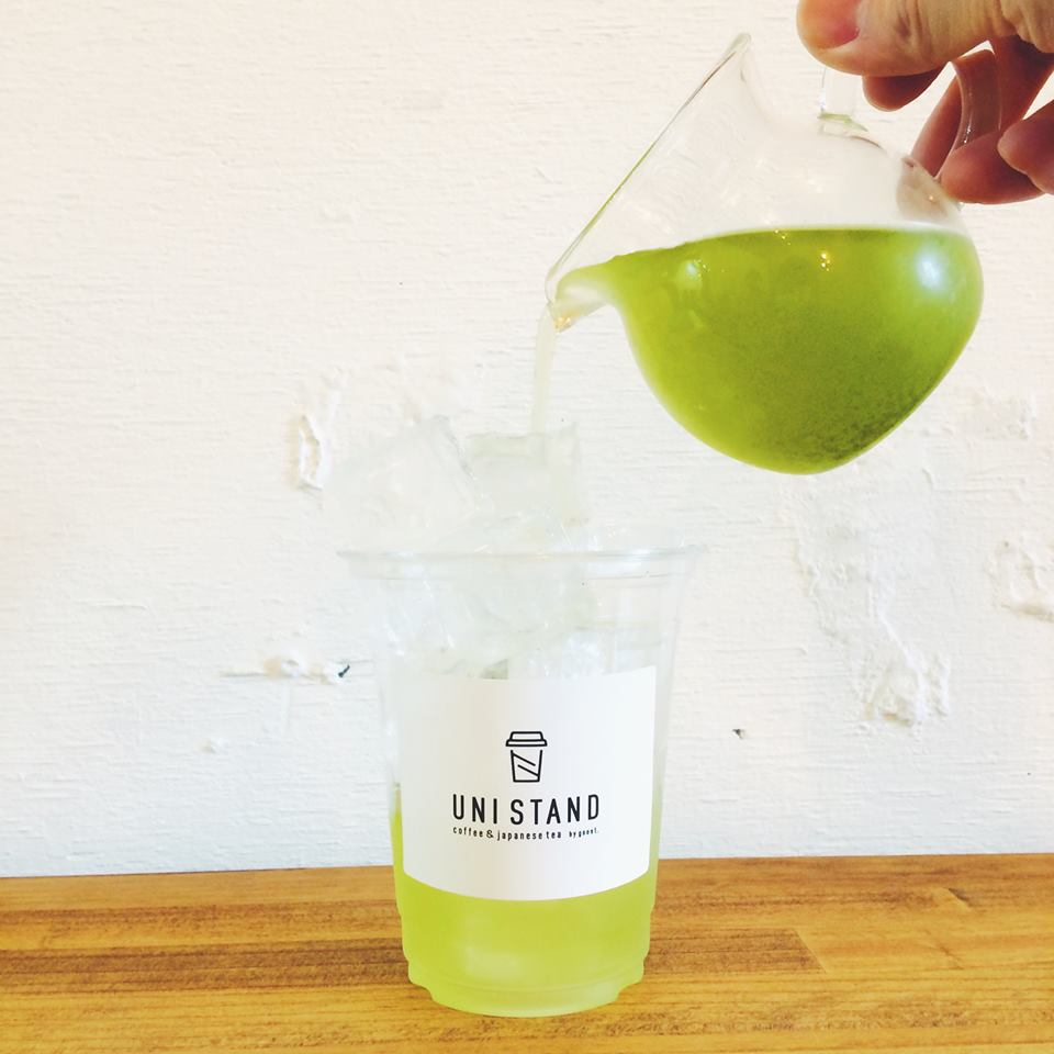 UNISTANDでは茶リスタが淹れる日本茶がお楽しみいただけます