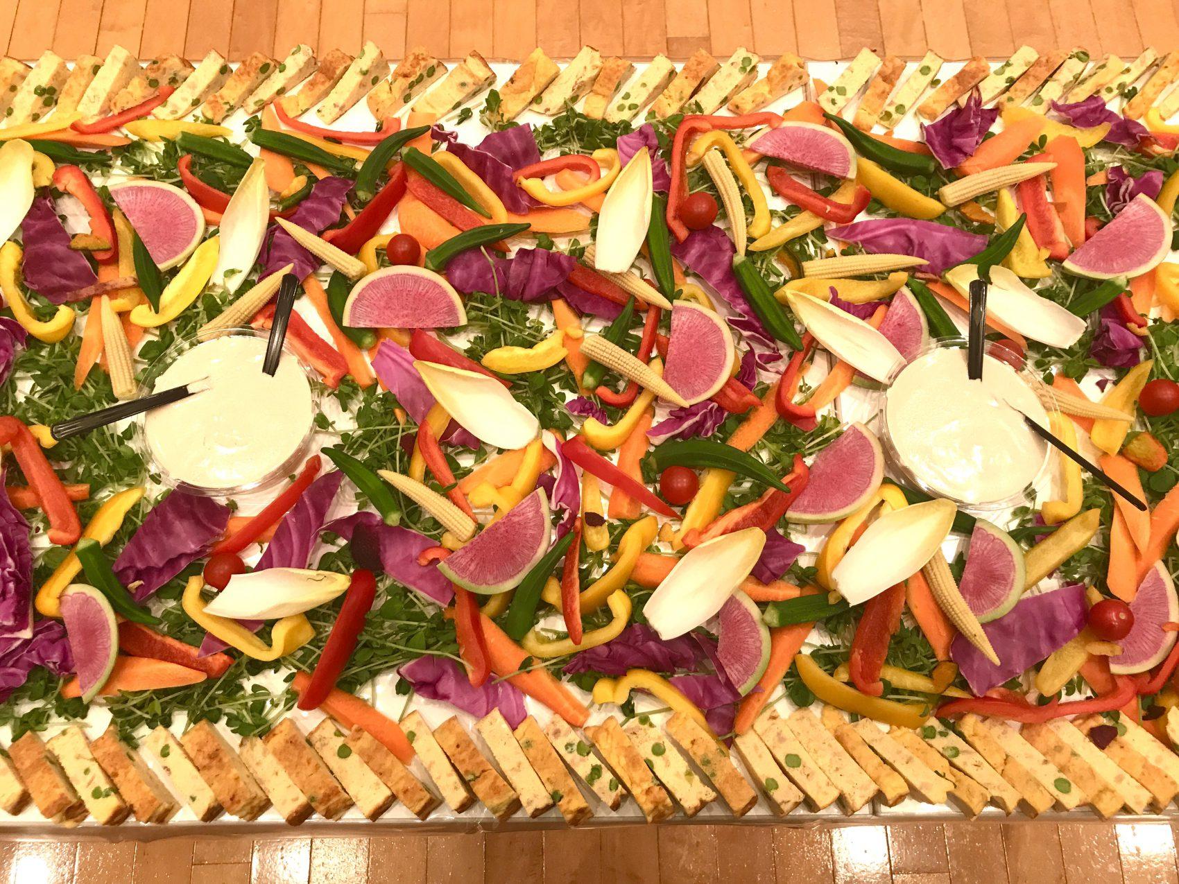 新鮮野菜のガーデンバーニャカウダー