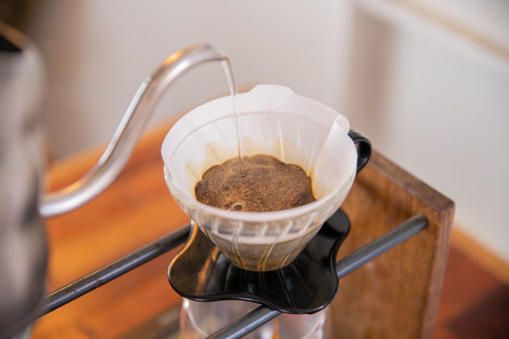 ドリップコーヒーの抽出の仕方