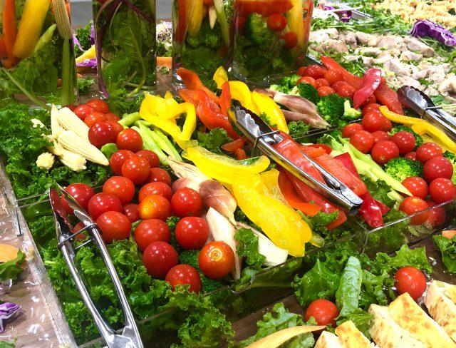 野菜の水槽