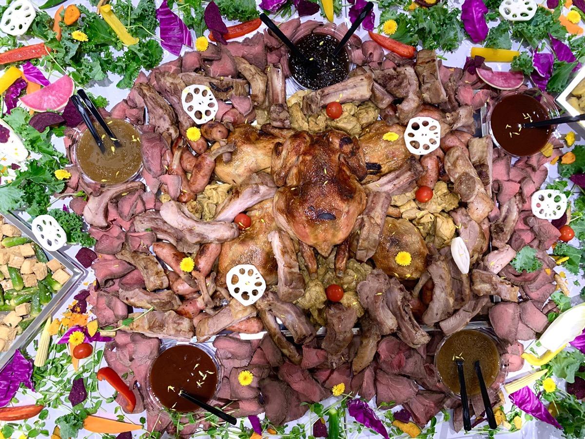肉の盛り合わせ2