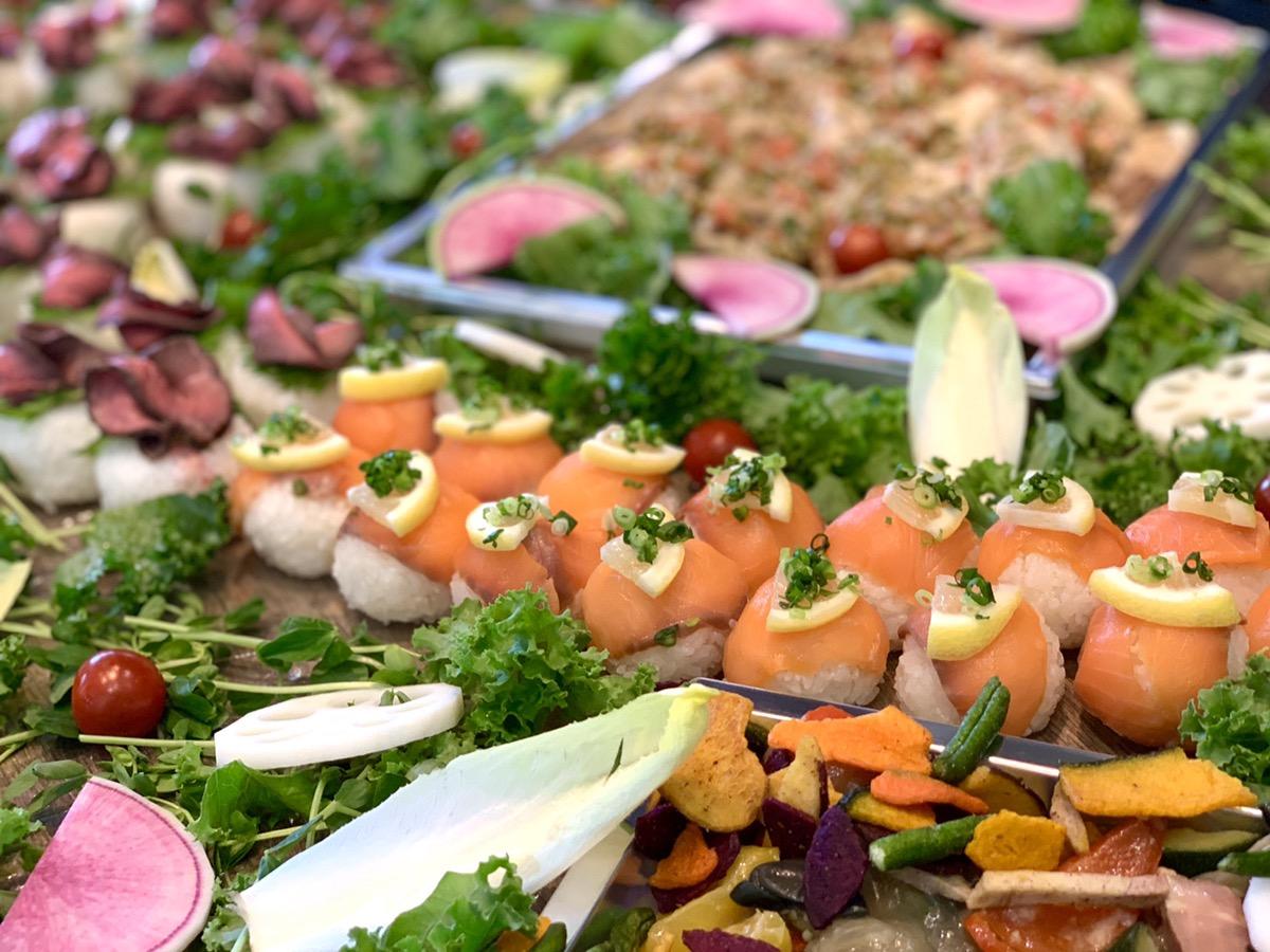 サーモン手まり寿司