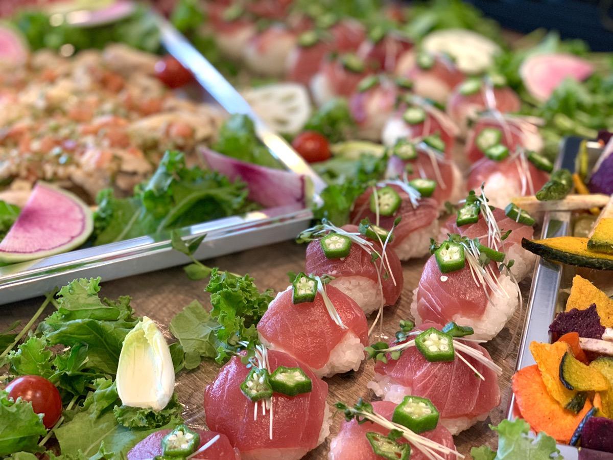 マグロ手まり寿司